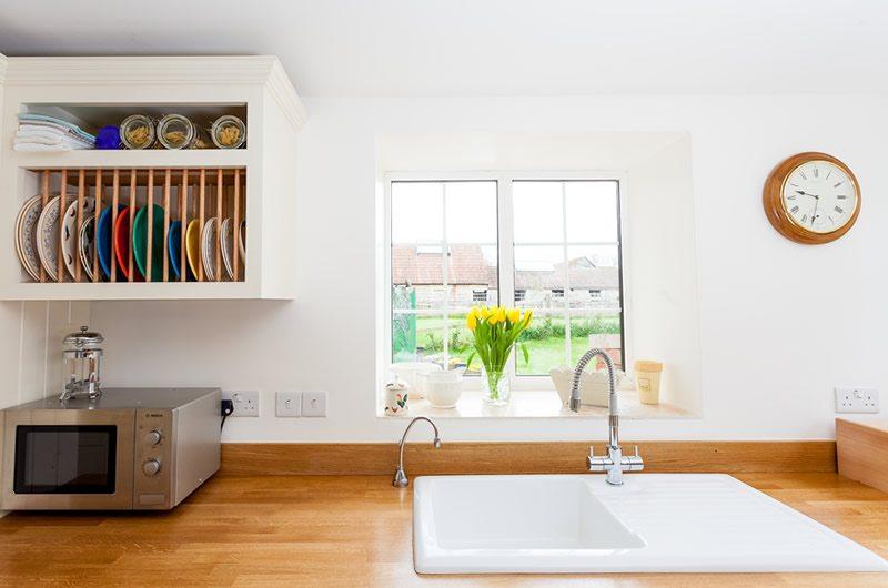 Beautiful Kitchen and White Sink